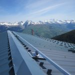 VERTIC's ALTIRAIL horizontal fall protection rail system